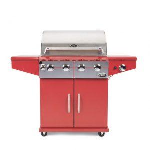 Barbecue Boretti Da Vinci incl. wokbrander rosso