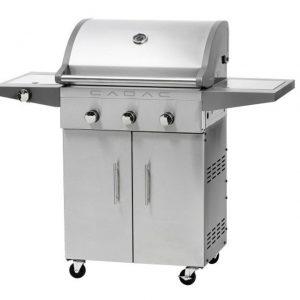 Barbecue Cadac Entertainer - RVS 3 Brander met Zijbrander