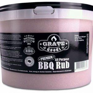 Barbecue Grate Goods All Purpose BBQ Rub Emmer 2.2 Kilo