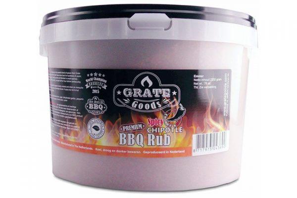 Barbecue Grate Goods Spicy Chipotle BBQ Rub Emmer 2.2 Kilo