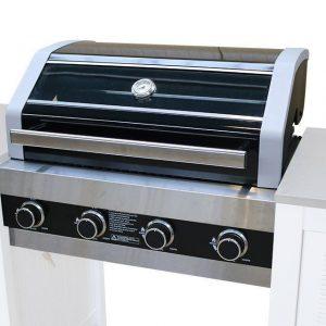Barbecue Kansas Built-In 4-Brander Fonteyn