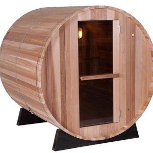 Barrel Sauna Clear 4 ft. - Fonteyn