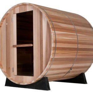 Barrel Sauna Clear 6 ft. - Fonteyn