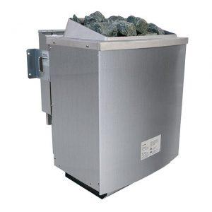 Bio-combinatiekachel 9 kW incl. externe bediening Premium - Karibu