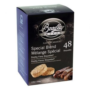 Bisquettes Special Blend - 48 Pack - Bradley Smoker