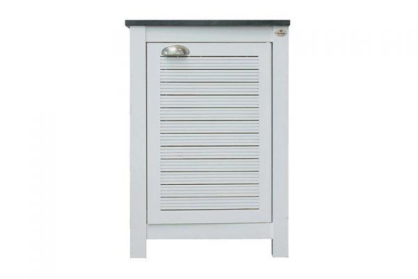 Buitenkeuken Module 1 deurs kast Fresh White Fonteyn