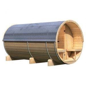Buitensauna barrel 4 - Karibu