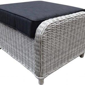 Ibiza XL hoek loungeset 8-delig verstelbaar kobo grijs