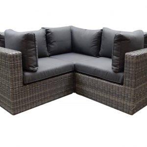 Ferro hoek loungeset 3-delig ash grey