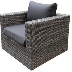 Ferro lounge tuinstoel ash grey
