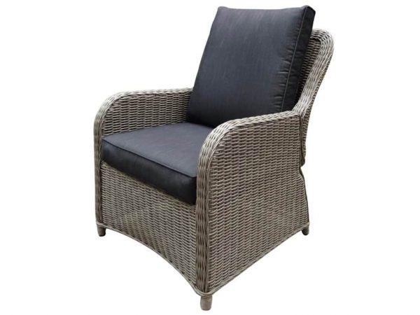 Bilbao XL lounge tuinstoel verstelbaar kobo grijs
