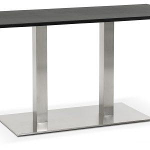 Kokoon Design Eettafel 'Recta', kleur Zwart