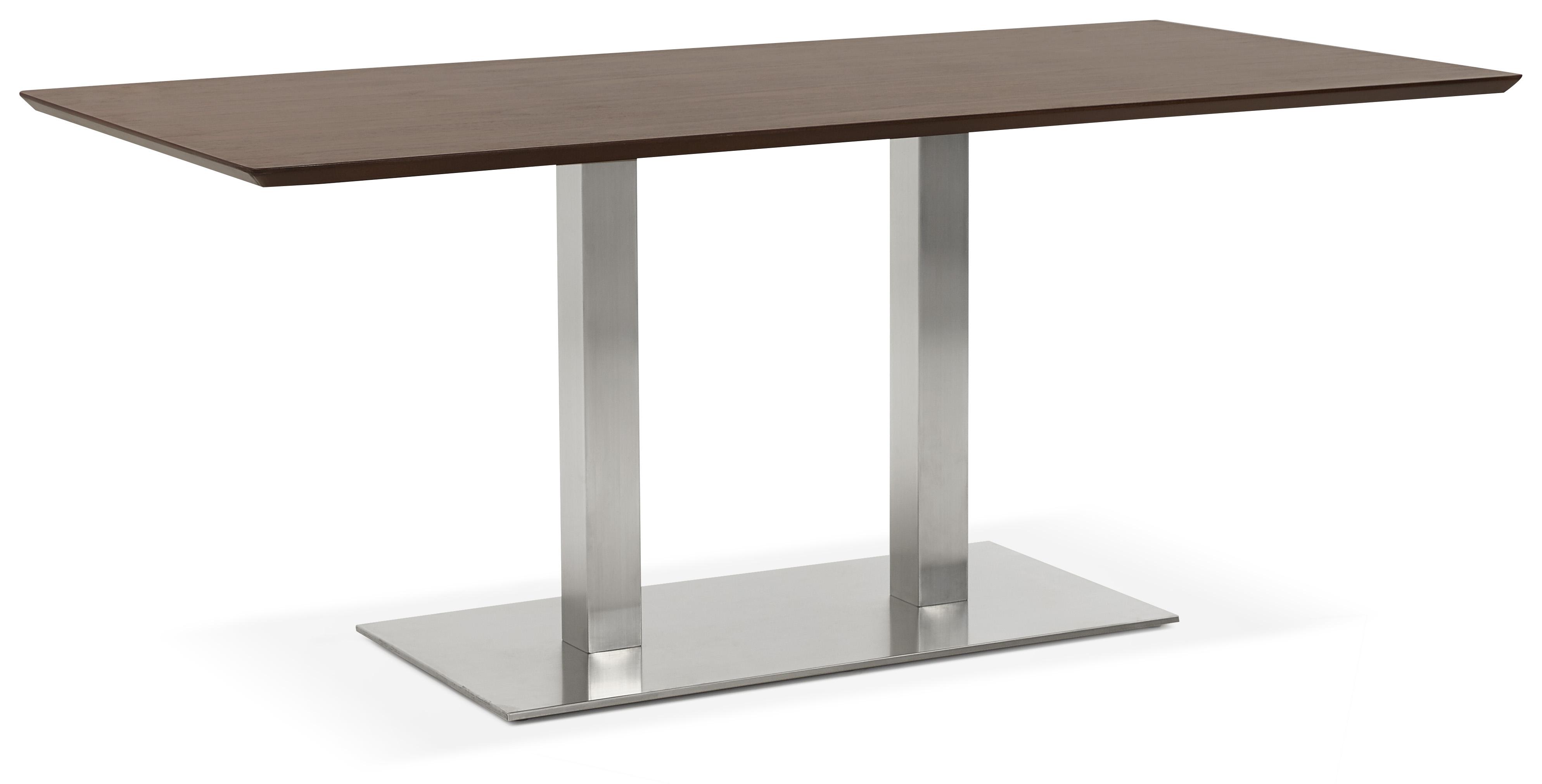 Moderne Eettafel Hout.Kokoon Design Eettafel Recta Kleur Hout