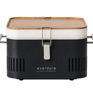 Everdure CUBE Charcoal Portable Barbeque Graphite