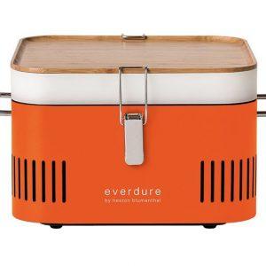Everdure CUBE Charcoal Portable Barbeque Orange