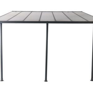 Fonteyn Aluminium Terrasoverkapping Bova Polycarbonaat 400x300