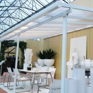 Palram Fonteyn Veranda Overkapping Bjarne/Feria 420 x 300 Grijs