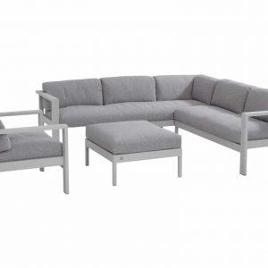 Galaxy loungeset + stoel linkerarm Seashell 4 Seasons Outdoor
