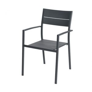 Grace Stacking Chair Alu - Anthracite - Max & Luuk