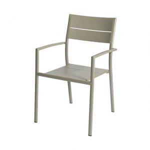 Grace Stacking Chair Alu - Pearl Grey - Max & Luuk