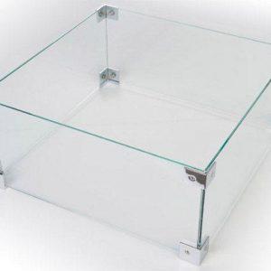Happy Cocooning Glazen Ombouw voor Losse Inbouwbrander Vierkant