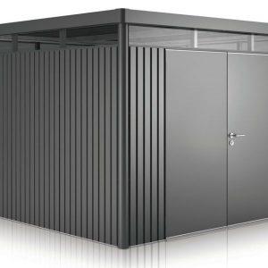HighLine Biohort met dubbele deuren H4 donker grijs