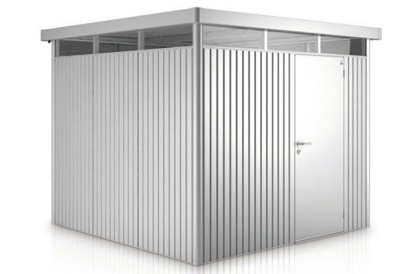 HighLine Biohort met standaard deuren H2 zilver metallic
