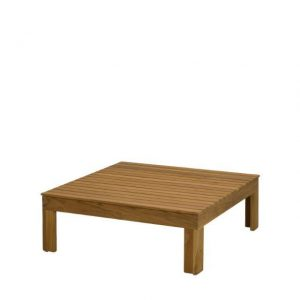 Koffietafel Mistral 90 x 90 cm Teak 4 Seasons Outdoor