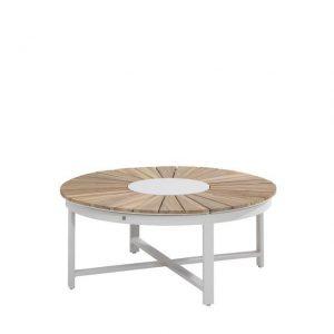 Koffietafel Verstelbaar 105 cm Forio Frost Grey 4 Seasons Outdoor
