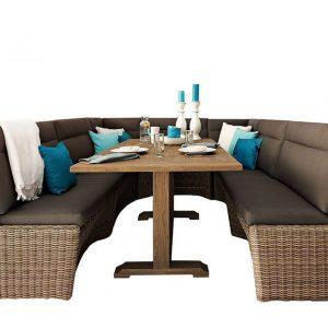 Lounge-Diningset Esquina Beach Apple Bee