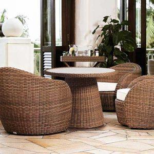 Lounge-Diningset Lotus Tan Artie