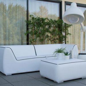 Fonteyn Collectie Loungebank 4-zits Nadi White Fonteyn