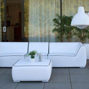 Fonteyn Collectie Loungebank 5-zits Nadi White Fonteyn