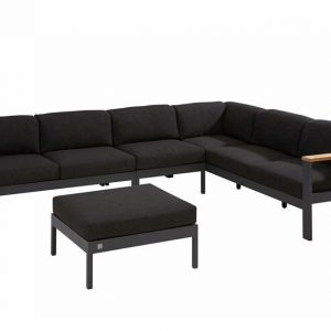4 Seasons Outdoor Loungeset Orion 01 Anthracite 4SO