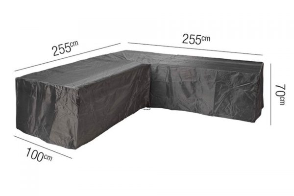 Platinum Loungesethoes L 255 x 255 x 100 x 70(H) cm AeroCover