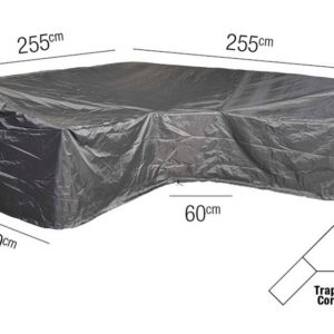 Platinum Loungesethoes L Trapeze 255 x 255 x 90 x 65(H)-90(HB) cm AeroCover