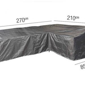Platinum Loungesethoes L right 270 x 210 x 85 x 65(H)-90(HB) cm AeroCover