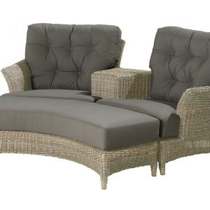 4 Seasons Outdoor Loveseat 2-delig Valentine Pure 4SO