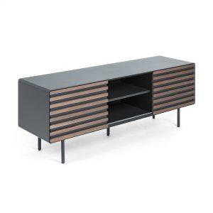Kave Home Tv-meubel 'Kesia' 162cm, kleur Donkergrijs