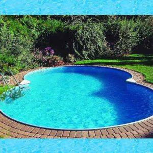 Active Pool Metalen zwembad Excellent 8-vormig 855 x 500 x 120 cm