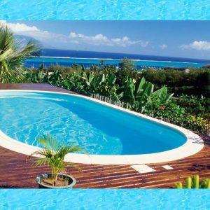 Active Pool Metalen zwembad Excellent ovaal 615 x 300 x 150 cm