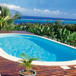 Active Pool Metalen zwembad Excellent ovaal 700 x 350 x 150 cm