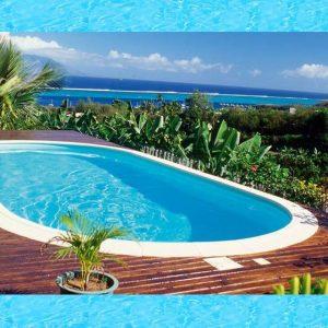 Active Pool Metalen zwembad Excellent ovaal 900 x 450 x 150 cm