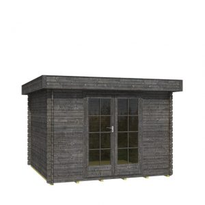 OLP Outdoor Life Products Tuinhuis Odille 200 Antraciet gedompeld