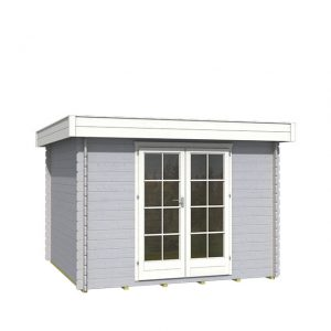 OLP Outdoor Life Products Tuinhuis Odille 200 Platinum Grey