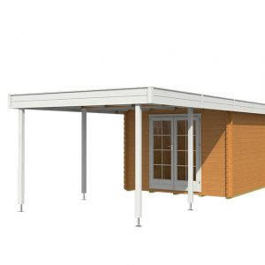 OLP Outdoor Life Products Tuinhuis Odille 300 Extra Dark Oak