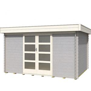 OLP Outdoor Life Products Tuinhuis Xavier 300 Platinum Grey