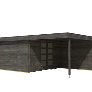 OLP Outdoor Life Products Tuinhuis Xavier 300 Top Antraciet gedompeld