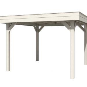 OLP Outdoor Life Products Vrijstaande Overkapping Outdoor Living 3030 Pearl White