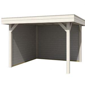 OLP Outdoor Life Products Vrijstaande Overkapping Outdoor Living 3030 Plus Gecoat